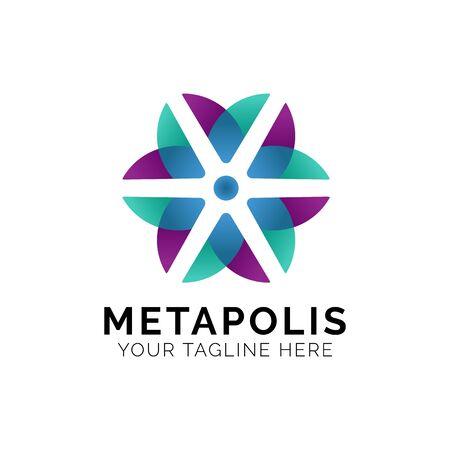 Flower Logo Design Inspiration, Vector illustration
