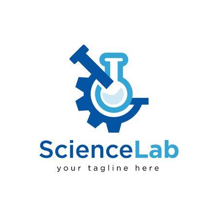 Science Logo Design Inspiration, Vector illustration Logo