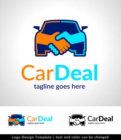Car Deal Logo Template Design Vektor- Standard-Bild - 42084884
