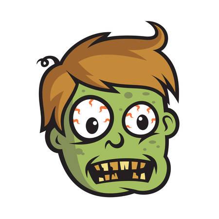 Boy Zombie Head