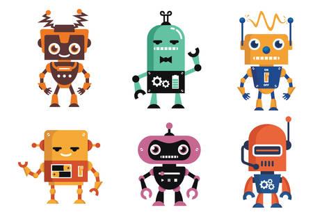 Funny Geek Robot
