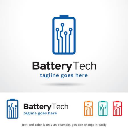 brand activity: Battery Technology Logo Template Design Vector