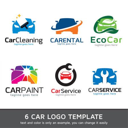 Car Logo Szablon wektora projektu