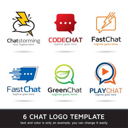 Logo chat Template Design Vecteur