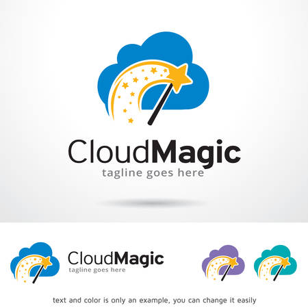 brand activity: Cloud Magic Logo Template Design Vector