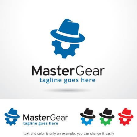 master: Master Gear  Template Design Vector
