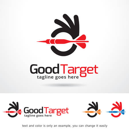 Good Target Template Design Vector Vectores