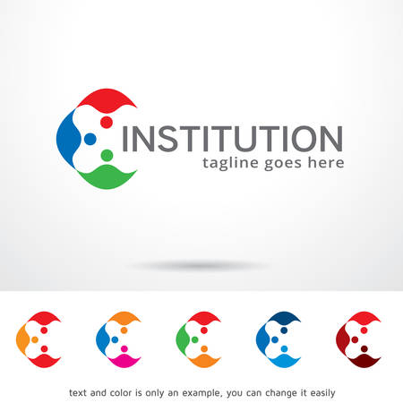 duet: Institution Template Design Vector