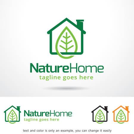 home design: Nature Home Template Design Vector