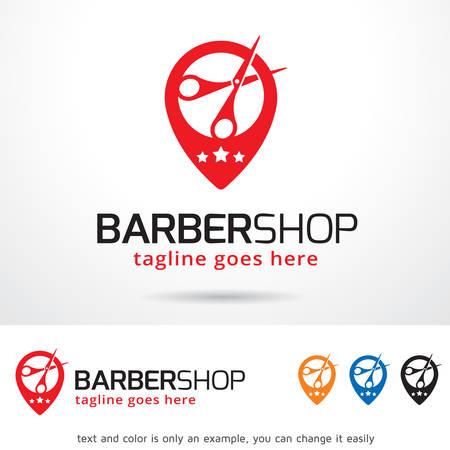 Barber Shop Template Design Vector Illustration