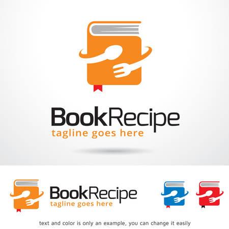 brand activity: Book Recipe  Template Design Vector