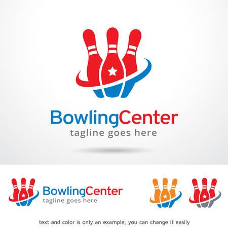 brand activity: Bowling Center  Template Design Vector