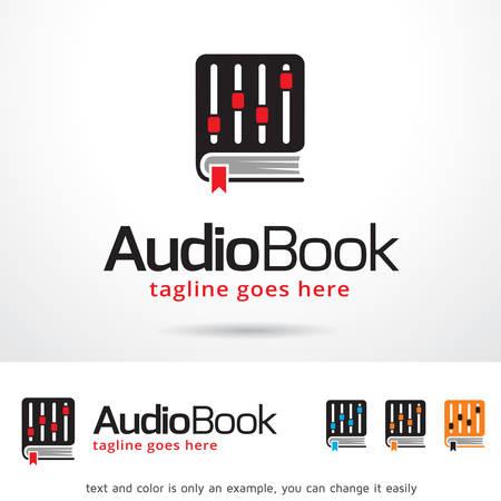 brand activity: Audio Book Logo Template Design Vector