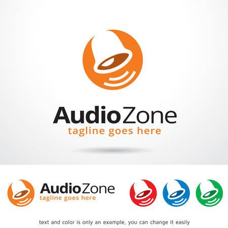 brand activity: Audio Zone Logo Template Design Vector