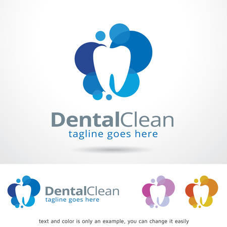 brand activity: Dental Clean Template Design Vector Illustration