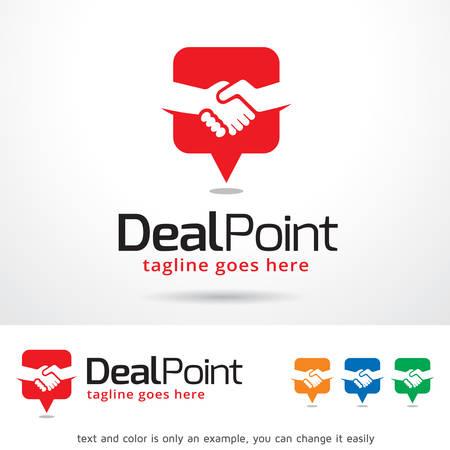 Deal Point Template Design Vector Illustration