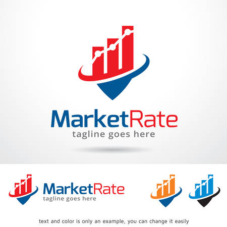 rate: Market Rate Template Design Vector
