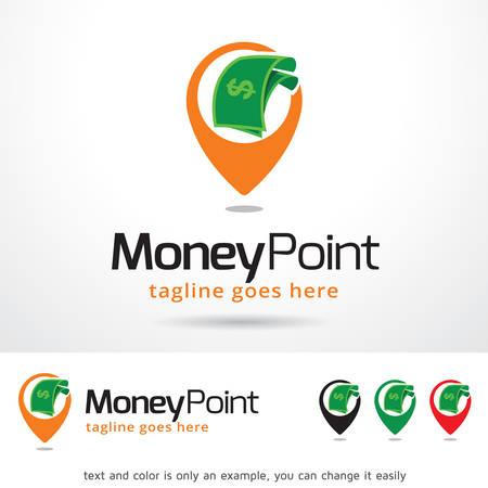 Money Point Template Design Vector