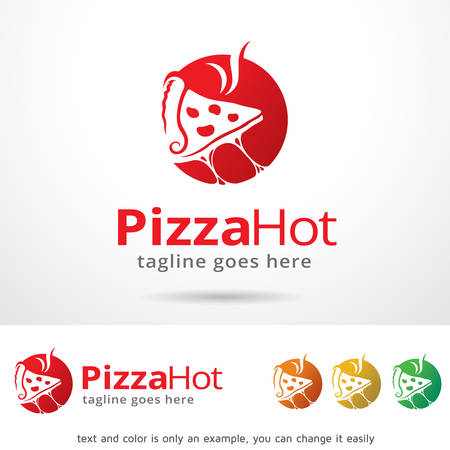 master chef: Pizza Hot Template Design Vector Illustration