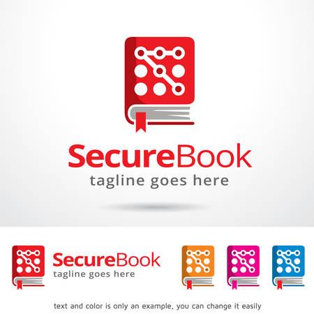 secure: Secure Book Template Design Vector