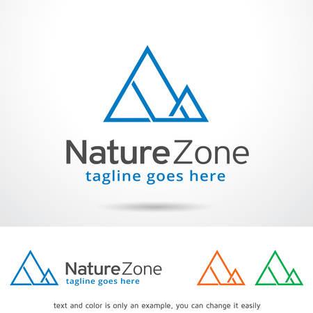 brand activity: Nature Zone Template Design Vector