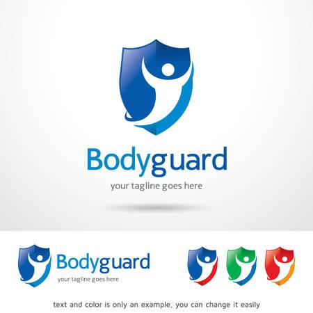 body guard: Body Guard Template Design Vector