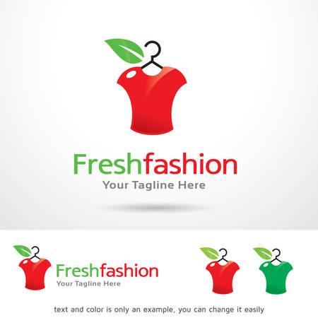 Fresh Fashion Logo Template Design Vector Illustration