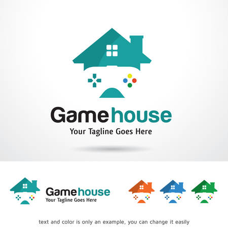 brand activity: Game House Logo Template Design Vector