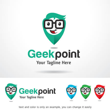 Geek Point Logo Template Design Vector