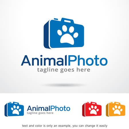 animal photo: Animal Photo Logo Template Design Vector