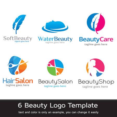beauty shop: Beauty Logo Template Design Vector