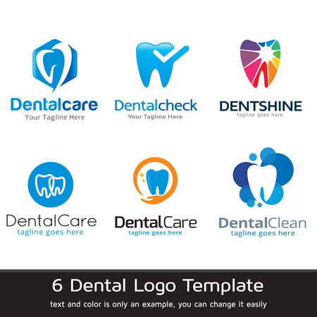 Dental Logo Template Design Vector