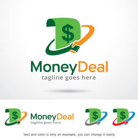 Money Deal Logo Template Design Vector