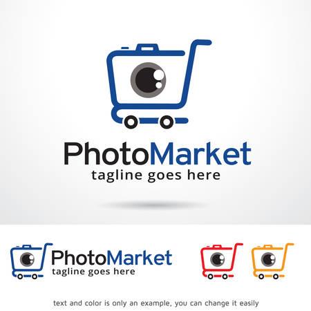 brand activity: Photo Market Logo Template Design Vector Illustration