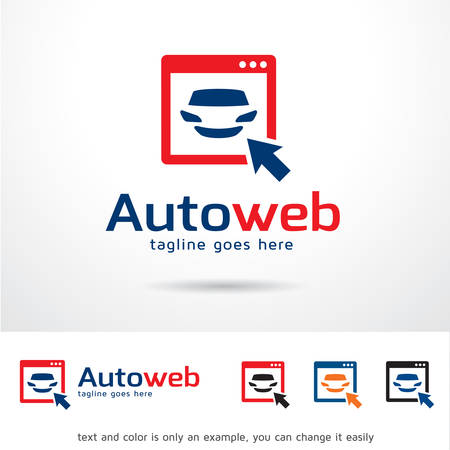 auto service: Automotive Website Logo Template Design Vector