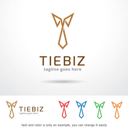 Tie Logo Template Design Vector