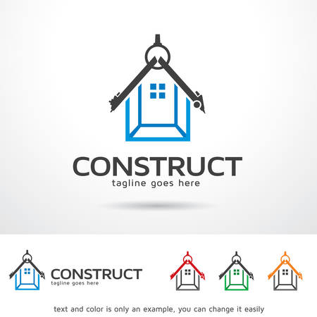 Construction Logo Template Design Vector