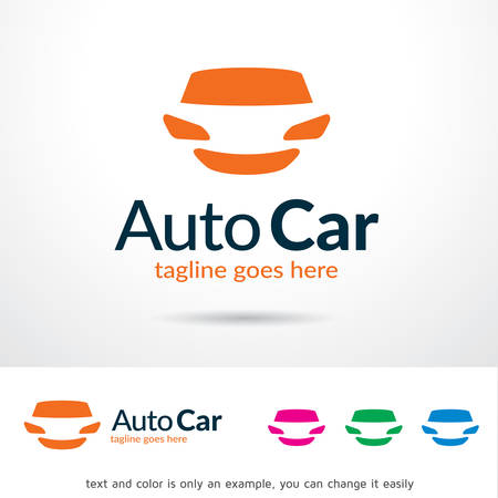 Auto Car  Template Design Vector