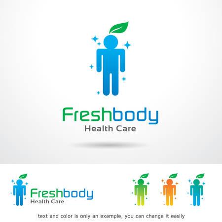 brand activity: Fresh Body  Template Design Vector