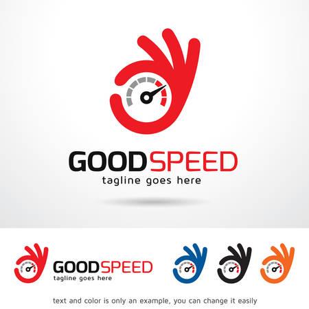 brand activity: Good Speed Template Design Vector Illustration