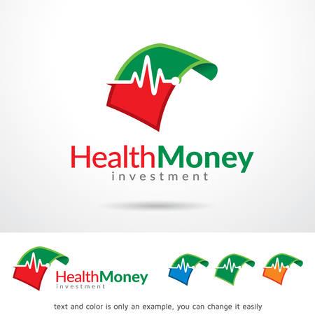 brand activity: Health Money Template Design Vector