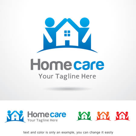 Home Care Template Design Vector