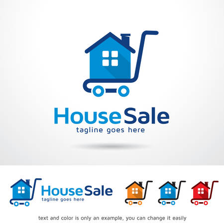 House Sale Template Design Vector Illustration