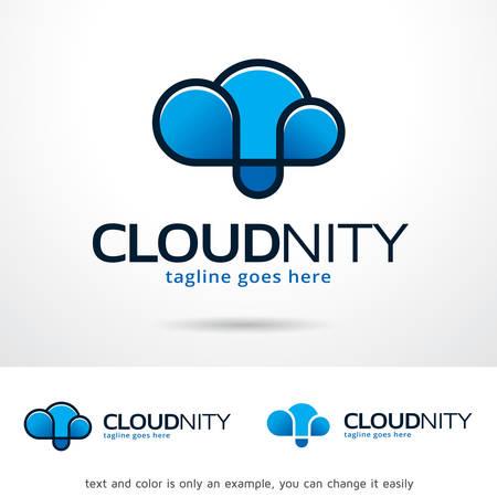 brand activity: Cloud Infinity Template Design Vector Illustration