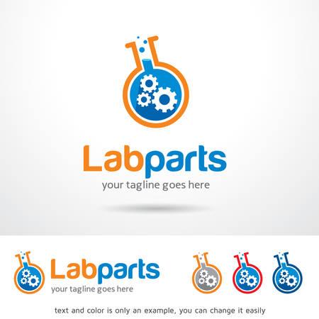 brand activity: Lab Parts Template Design Vector