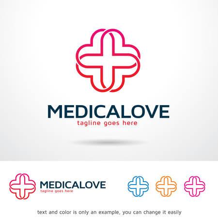 brand activity: Medical Love Template Design Vector