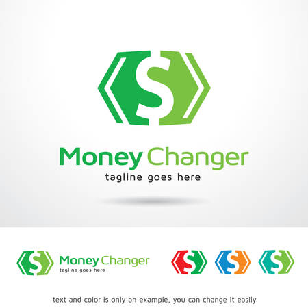 web development: Money Changer  Template Design Vector Illustration