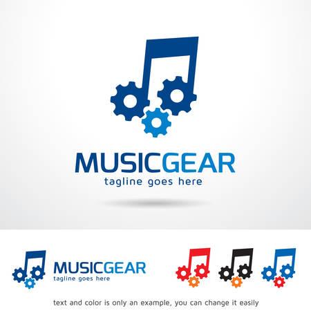 Media Gear Template Design Vector Royalty Free Cliparts, Vectors ...