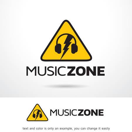 brand activity: Music Zone  Template Design Vector
