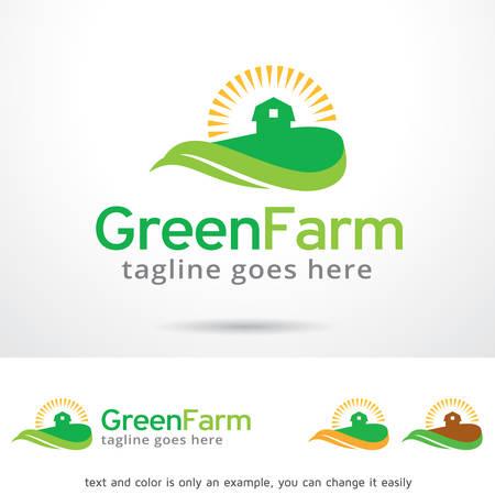 Green Farm Template Design